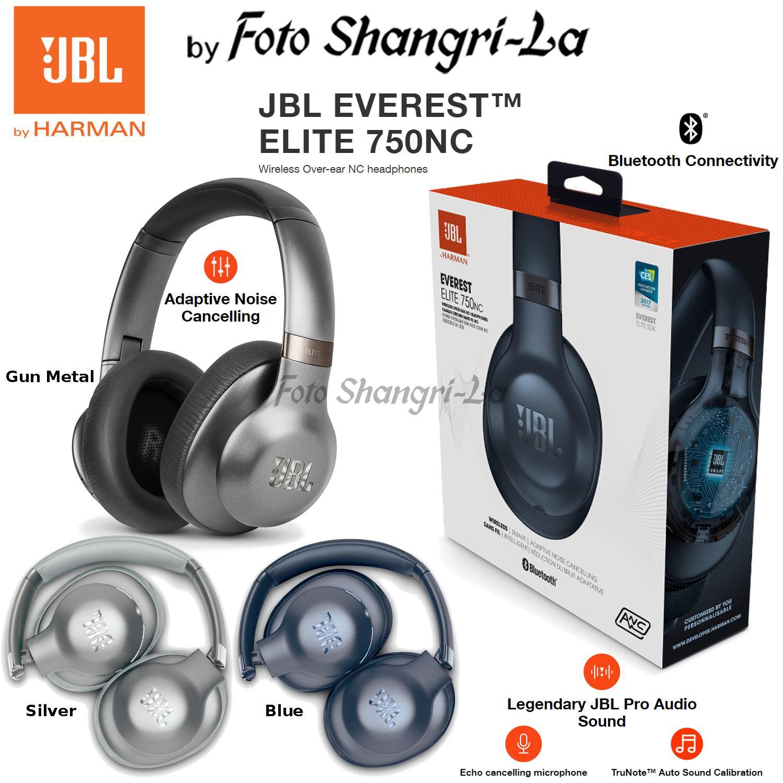 08f7b6505f2 JBL Everest Elite 750NC Over-Ear Wireless Headphones Noise Cancellation  Microp. ‹ ›