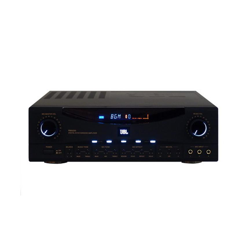jbl amplifier. jbl karaoke amplifier rma-220 200w+200w (rma220) key control range :