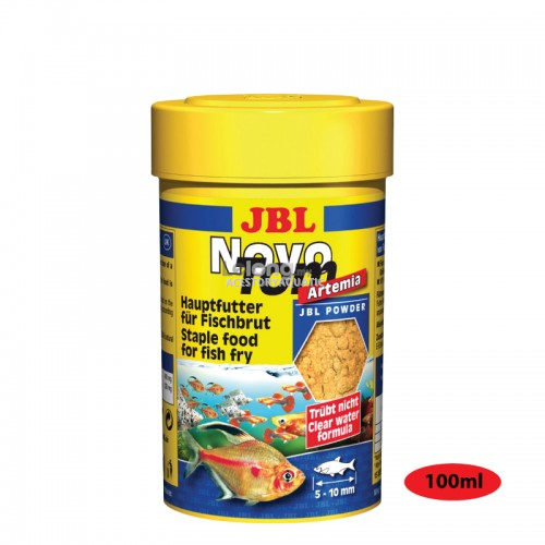 JBL Novo Tom Artemia 100ml (Fish Food)