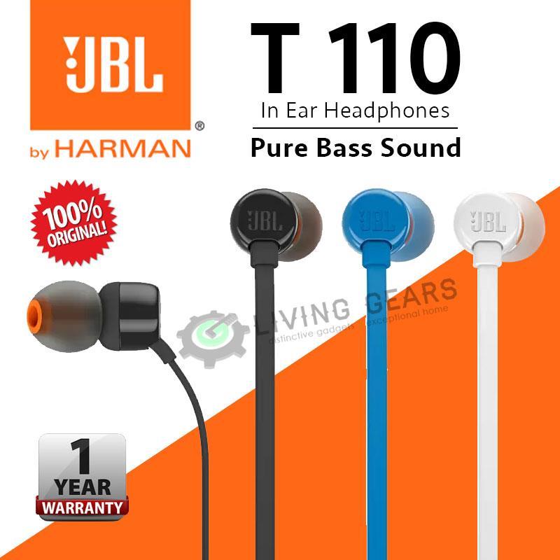 d6193aee23b JBL T110 In-Ear Headphones Pure Soun (end 1/8/2021 12:53 PM)