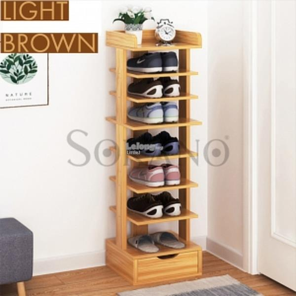 JD4327A 8 TIER SIMPLE SHOE RACK SHOE SHELF