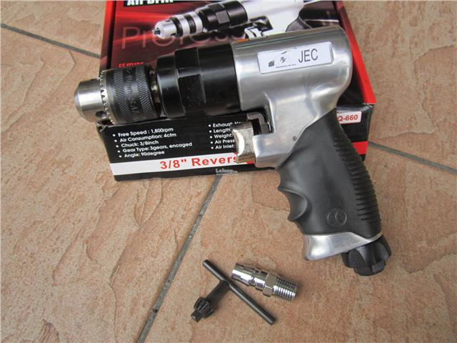 JEC 10mm (3/8') Reversible Air Drill