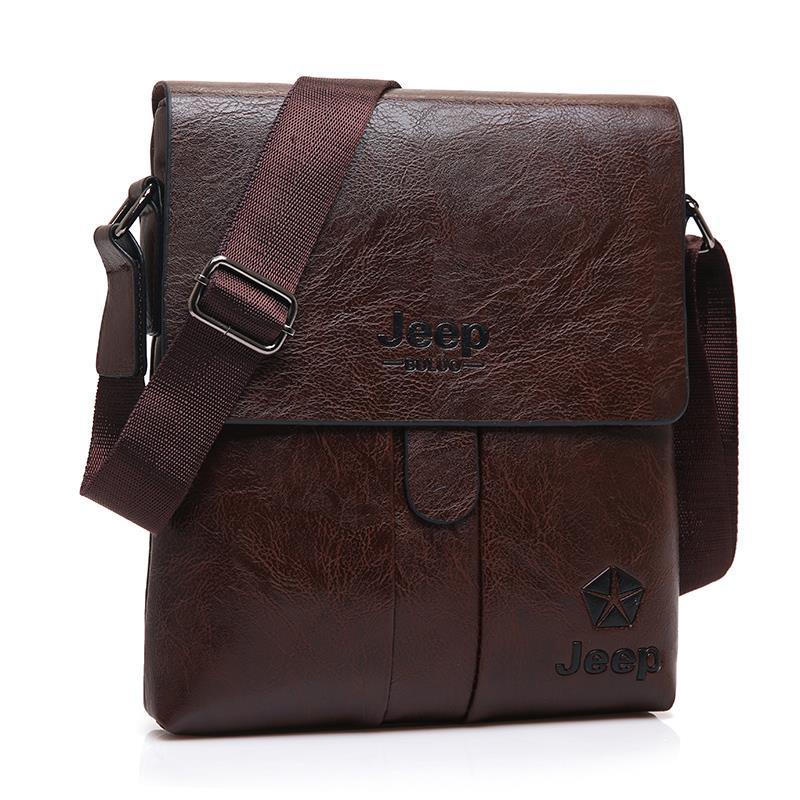 8baaeaa9fe Jeep Buluo Genuine Leather Men Bag Shoulder Bag Jeep Bag Sling Bag