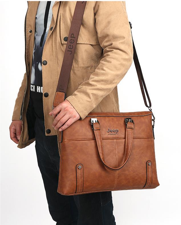 25e170d19a Jeep Buluo Leather Bag 14