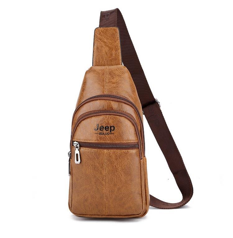 f7a958947c80 Jeep Buluo Men Leather Bag Shoulder (end 1 21 2020 9 15 PM)