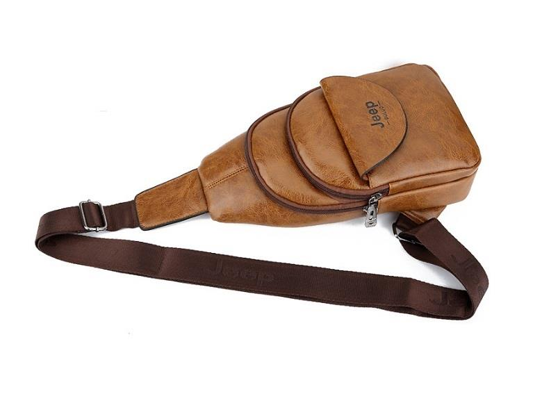7a00d34adb7b Jeep Buluo Men s Bag Messenger Bags Waterproof Sling Casual Bag