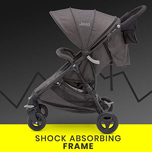 US. Jeep Gemini Stroller by Delta Children - Full of Features: Easy