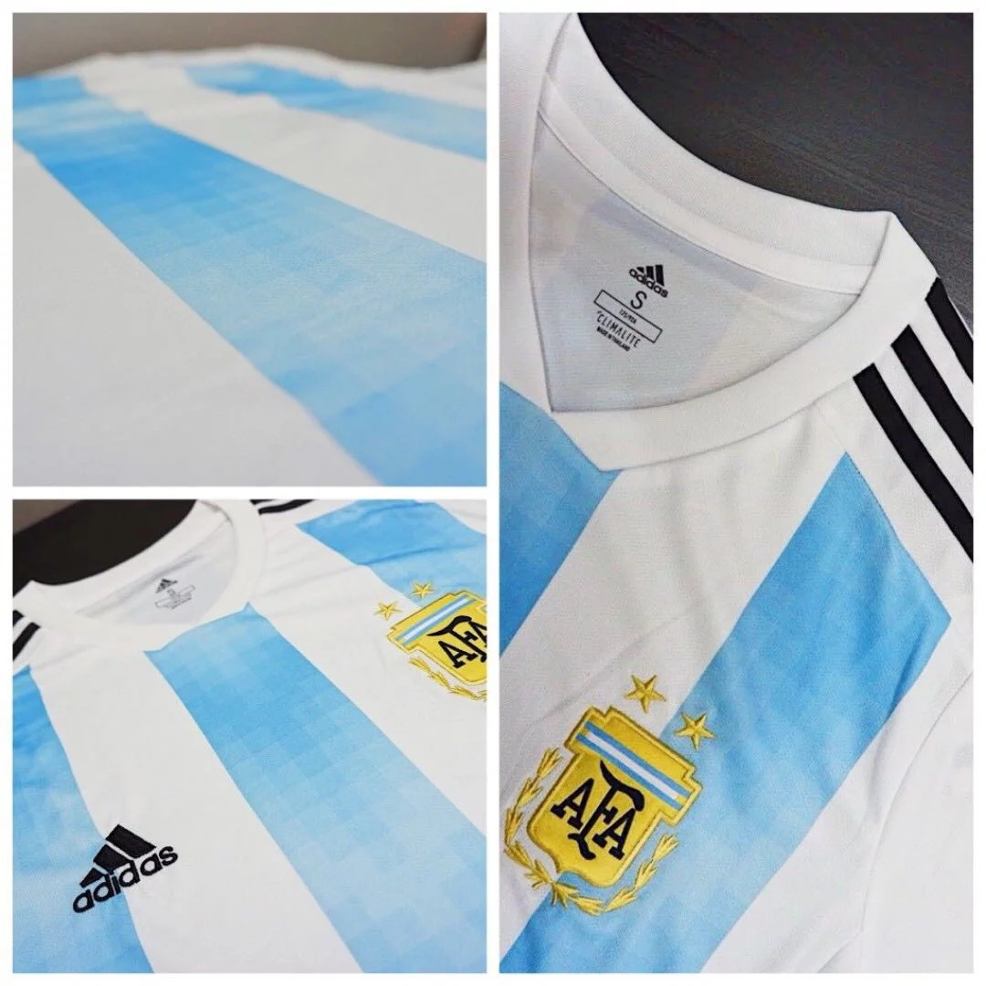 cd894235679 Jersey - Argentina Home Player Issue World Cup Official 2018 Football Jersey  O. ‹ ›