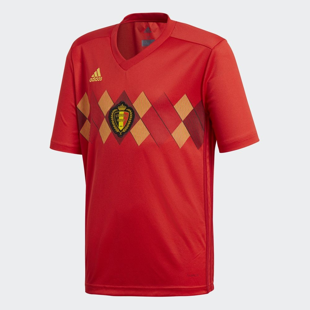 3f0f7a2478f Jersey - Belgium Home World Cup Official 2018 Football Jersey Online  Malaysia. ‹ ›