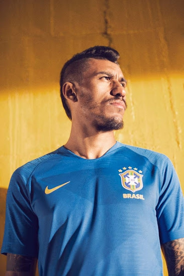 f25fef6353f7 Jersey - Brazil Away Kit World Cup Official 2018 Jersey Football Jersey  Online