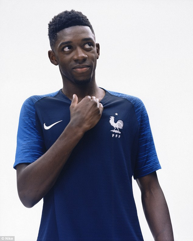 on sale 1f927 18dfa Jersey - France Home World Cup Official 2018 Football Jersey Online  Malaysia