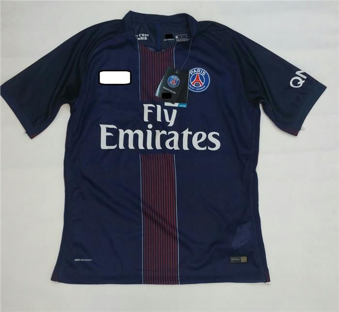 Jersey Jersi PSG Paris Saint Germain Home 2016 2017 Player Issue
