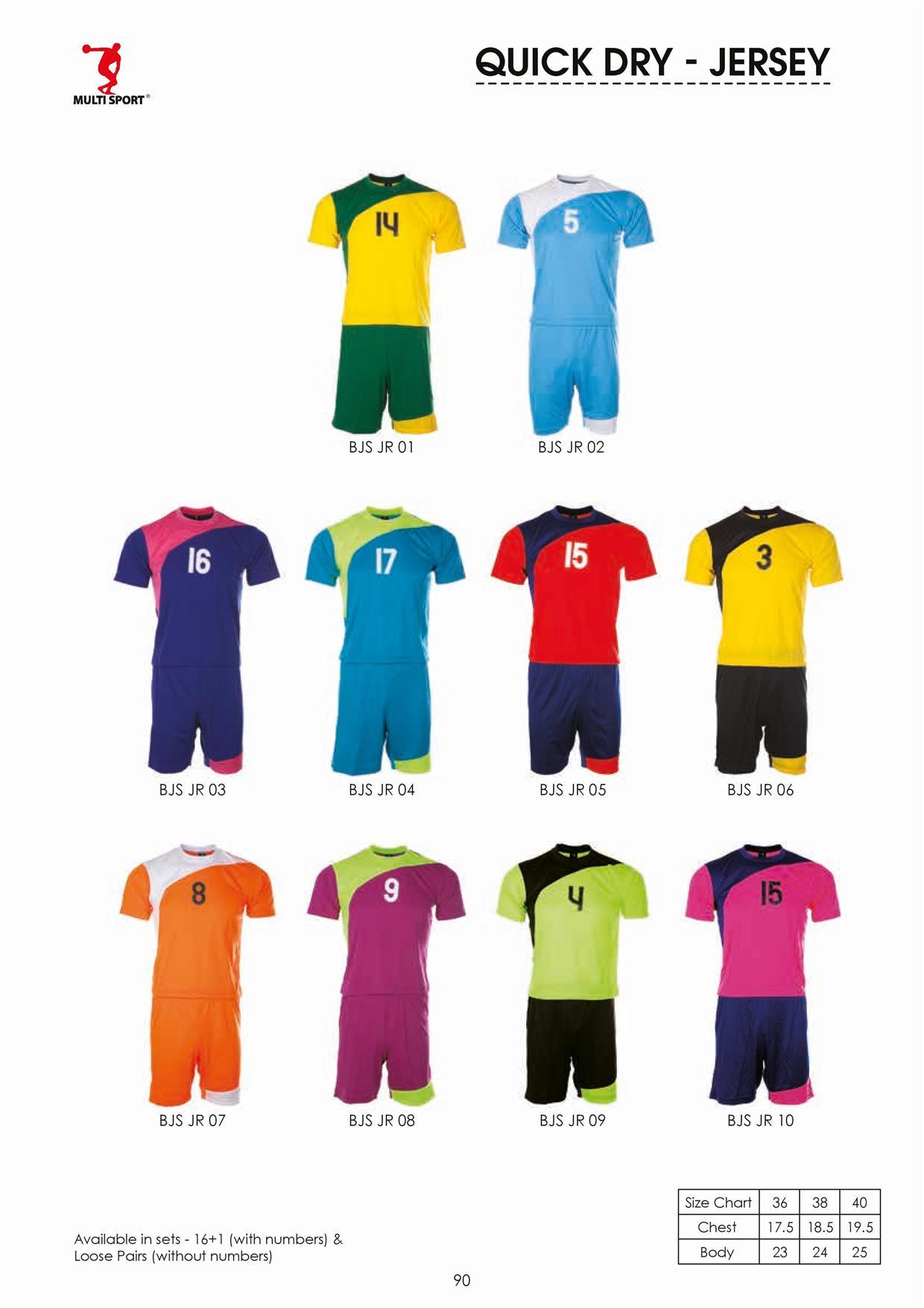 Jersey Set Team Bola Football Futsal End 2 26 2017 915 PM