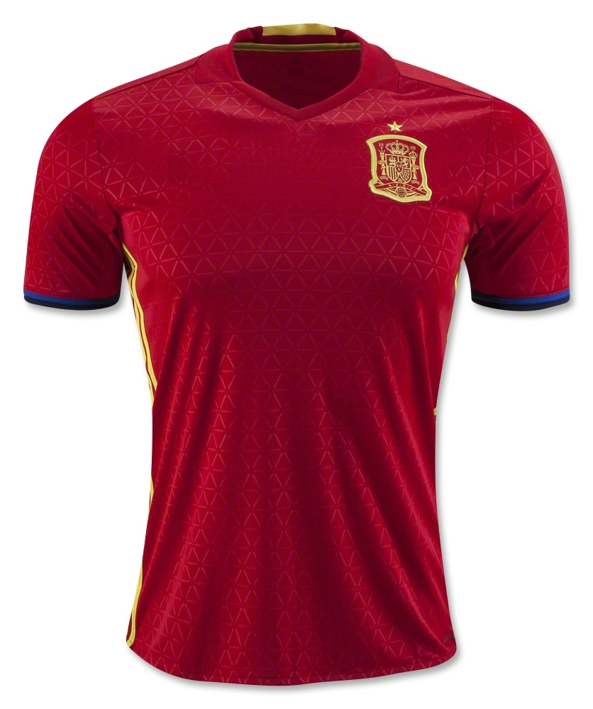 472db85cc029 Jersey - Spain Home Euro Jersey Adizero 2016 Football Jersey Online Malaysia