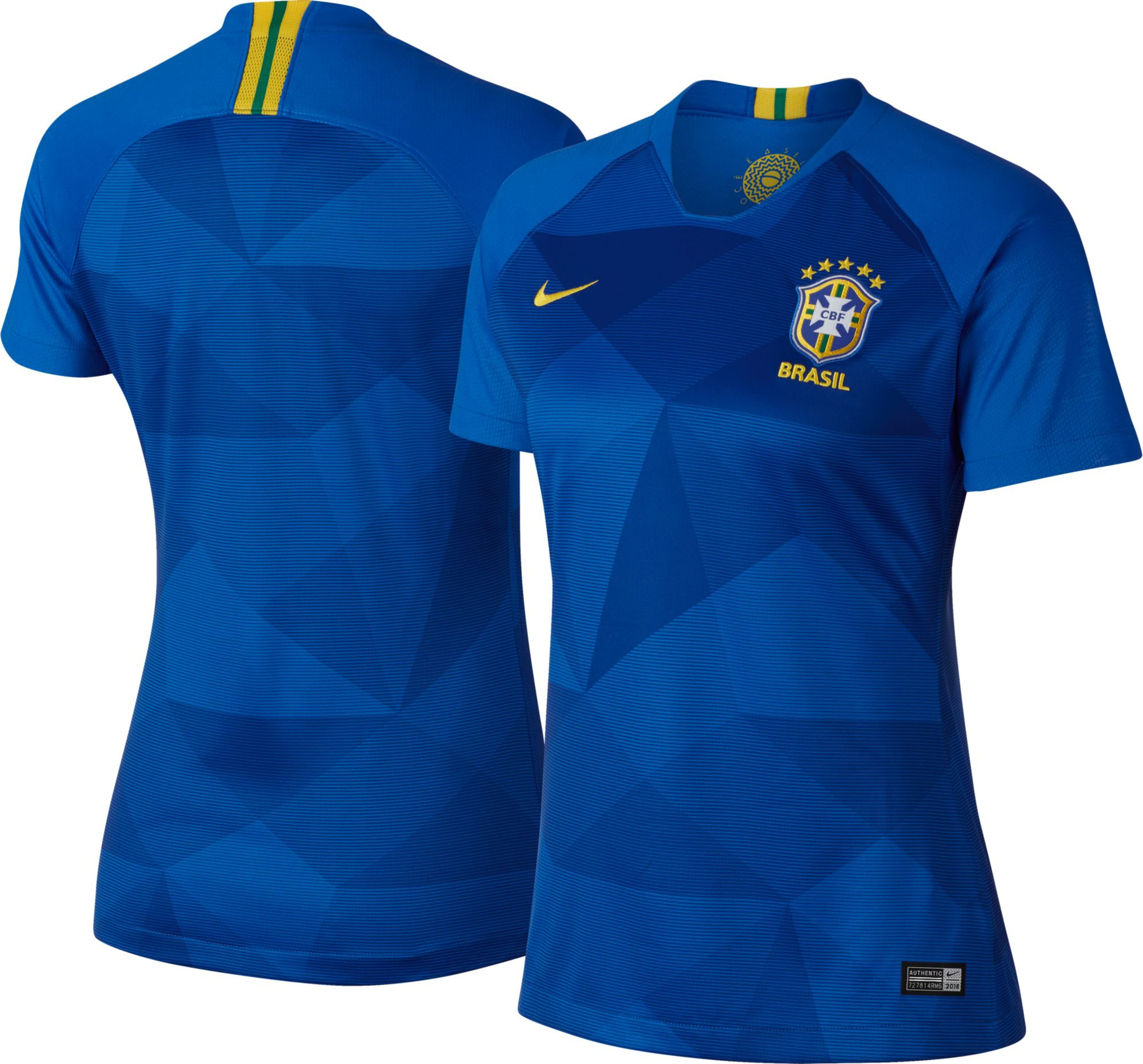 huge discount 1930f 70073 Jersey - Women Brazil Away World Cup Official 2018 Jersey Football Jersey  Onli