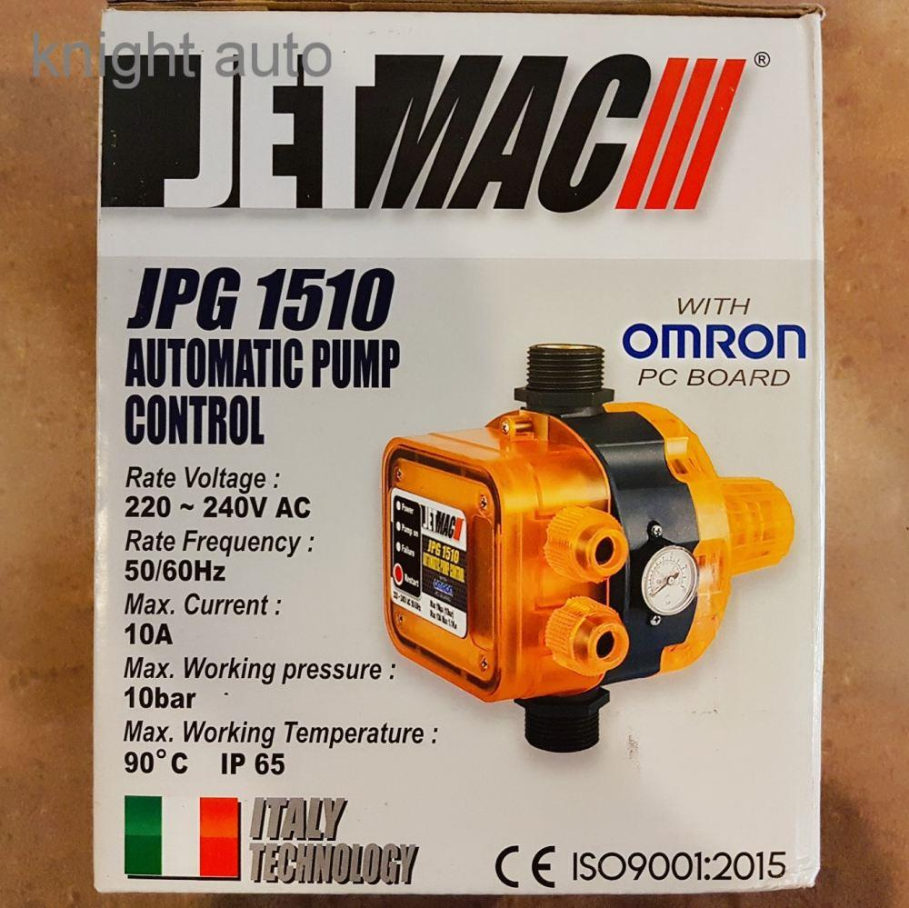 Jetmac JPG1510 Omron PC Automatic Pump Controller ID31466