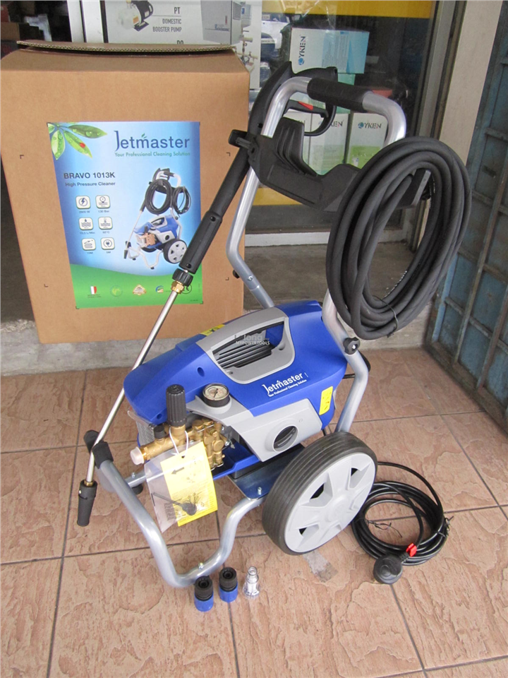 Jetmaster Bravo 2.9kW 130Bar Heavy Duty Commercial Pressure Washer
