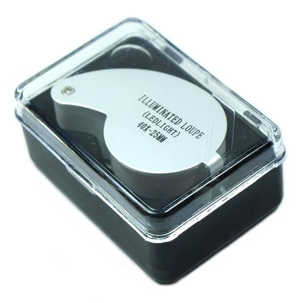 Jewelers Loupe Magnifier with LED Lights