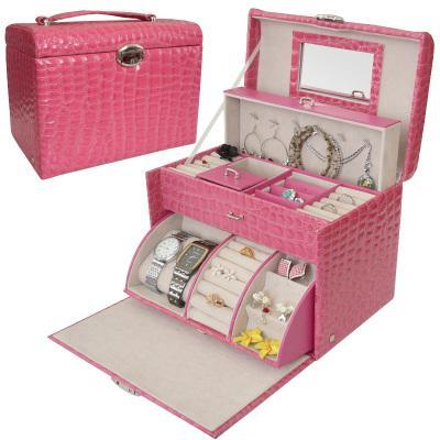 Jewellery box Jewelry Storage Box Large Roll Out Design. u2039 u203a  sc 1 st  Lelong.my & Jewellery box Jewelry Storage Box L (end 6/22/2019 12:15 AM)