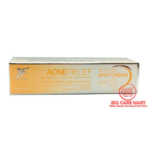 JF Acne Relief Sulfur Spot Cream 10g