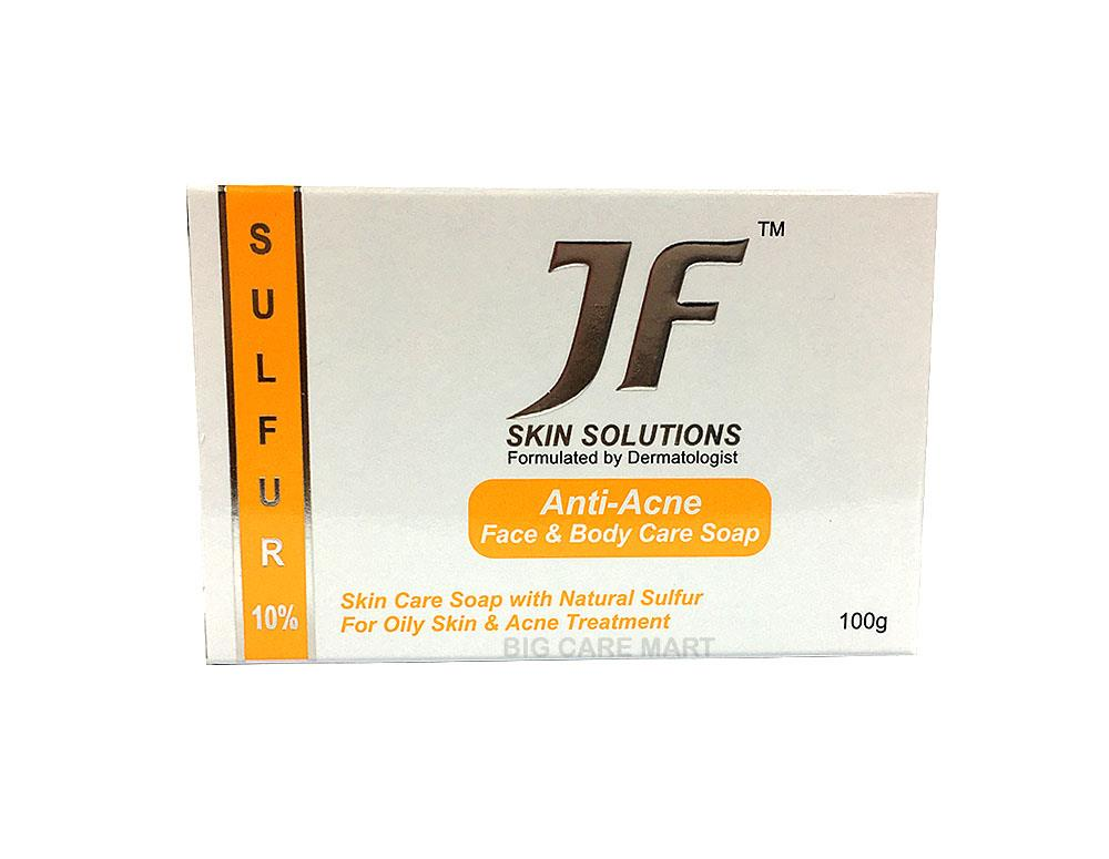 JF Skin Solutions Anti-Acne Soap X 5