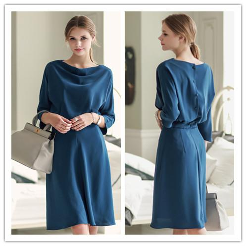 JF T20230/DF869 Europe Fashion Elegant Dress