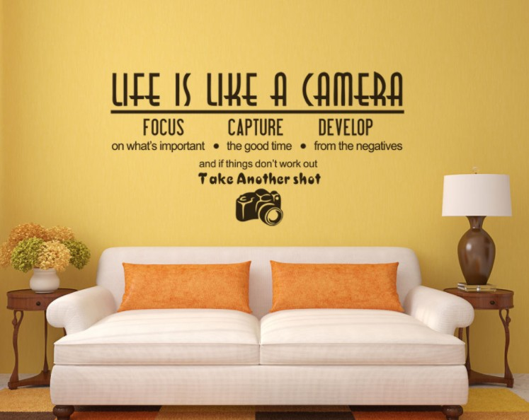 JG Life is like a Camera Wording Quot (end 9/6/2018 3:34 PM)
