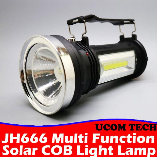 JH666 Multi Function Solar COB Light Lamp Solar Torch Light Torchligh