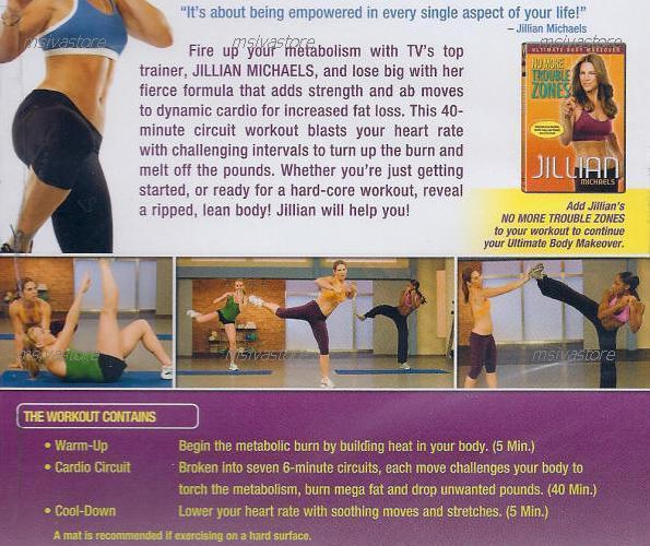 Jillian Michaels -Banish Fat Boost Metabolism+Shred Weights+Body 2DVDs