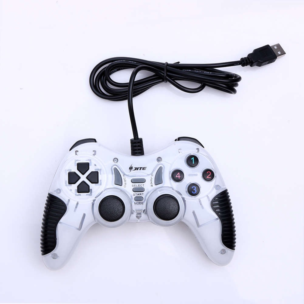 JITE GP108 USB2 0 VIBRATION 17 BUTTONS GAME CONTROLLER GAMEPAD FOR PC LAPTOP