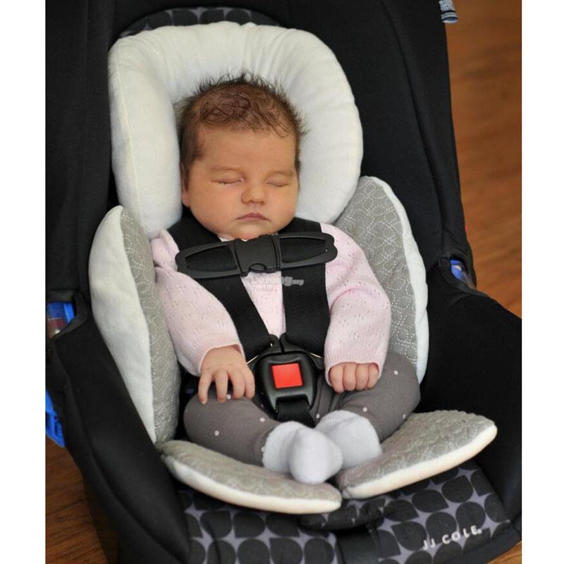 JJ Cole Baby Head Body Support Pillow Car Seat Stroller