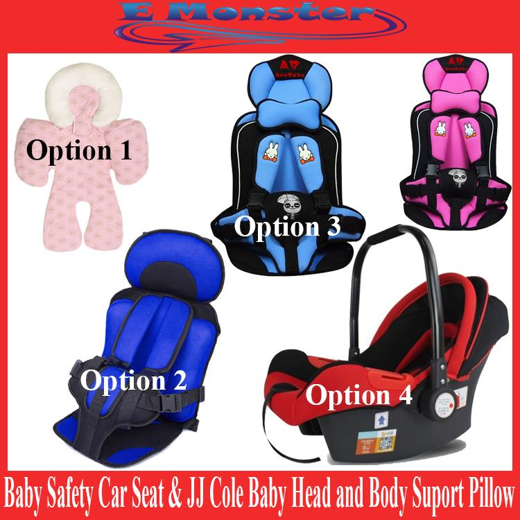 JJ Cole Newborn Baby Kids Safety Car Seat Cushion Carrier Basket
