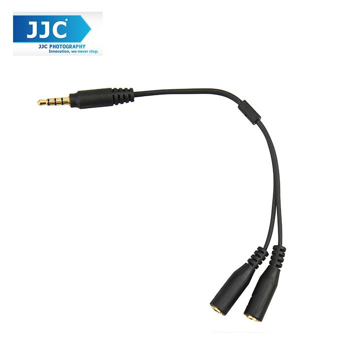 JJC Cable-SPY1 Adapter 3.5mm TRRS Jack Cellphone Convertor Cable