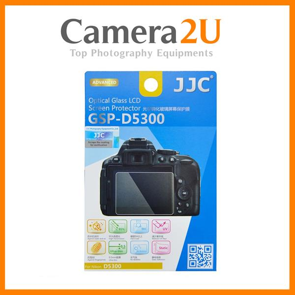 JJC GSP-D5300 Optical Glass LCD Screen Protector Nikon D5300D5500D5600