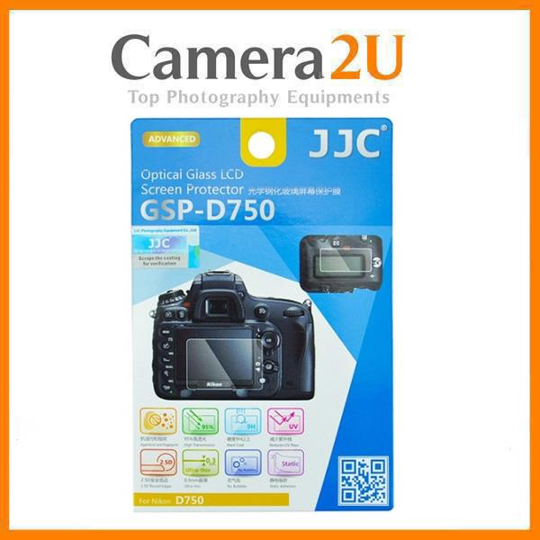 JJC GSP-D750 Tempered Glass LCD Screen Protector for Nikon D750