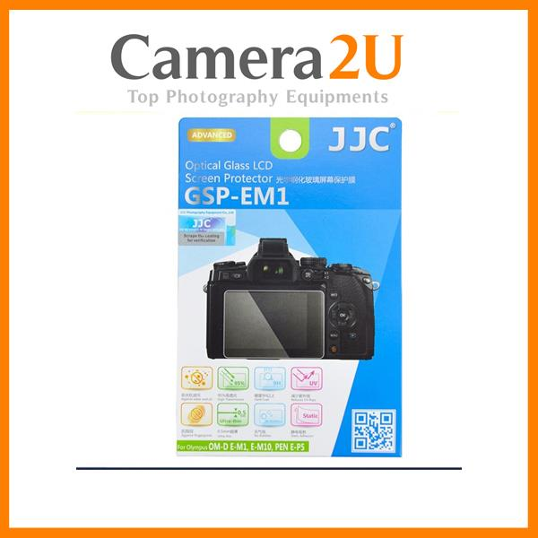 JJC GSP-EM1 Optical Glass LCD Screen Protector for Olympus E-M1