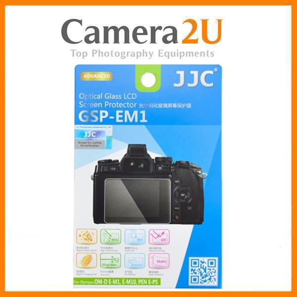 JJC GSP-EM1 Tempered Glass LCD Screen Protector for Olympus E-M1
