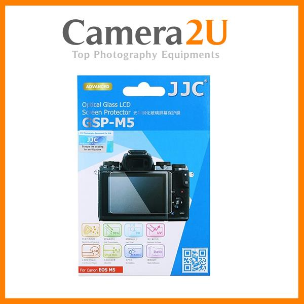 JJC GSP-M5 Optical Glass LCD Screen Protector for Canon EOS M5