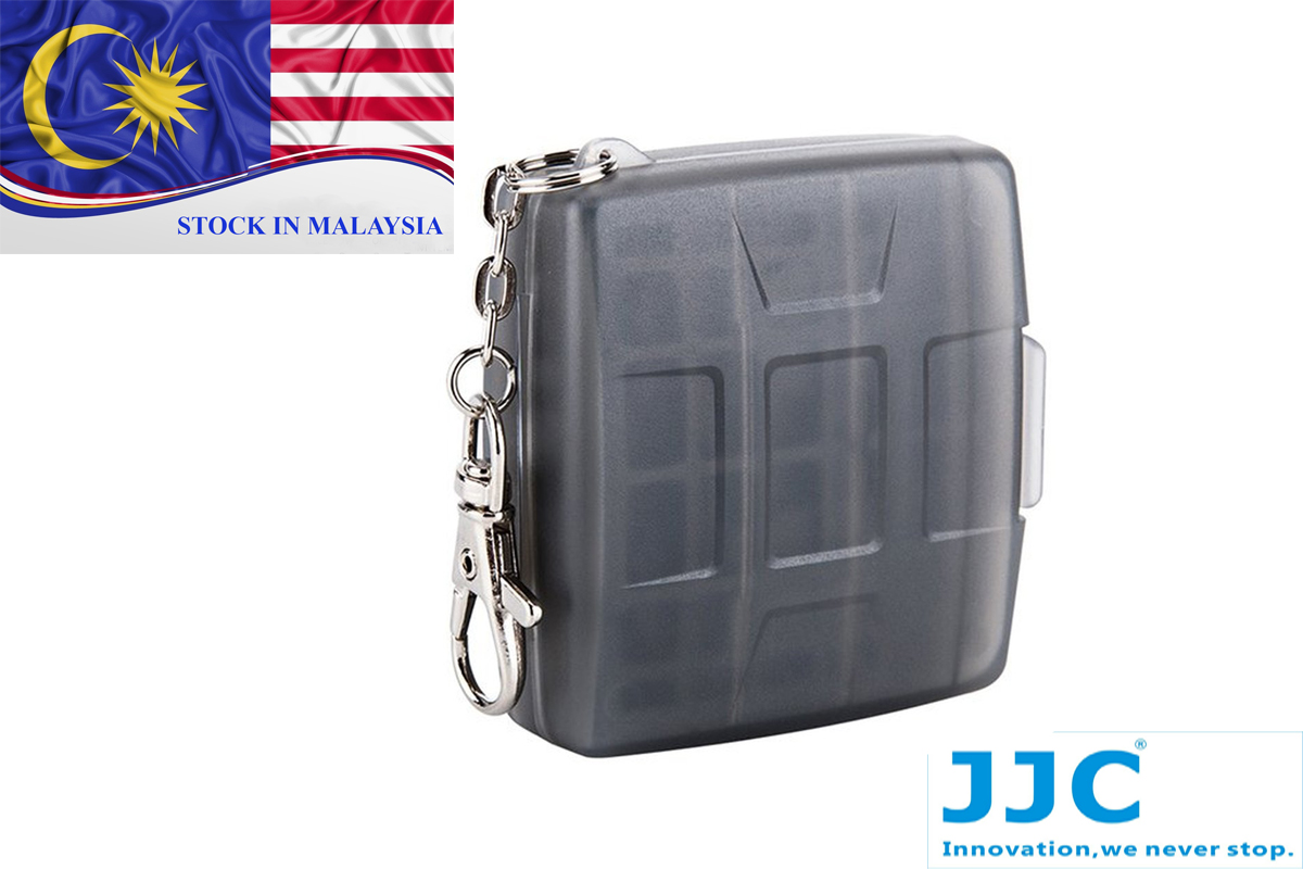 JJC MC-11D Memory Card Case Protector for 4 SD Card + 4 Micro SD Card