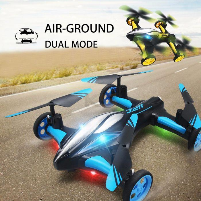 JJRC H23 2.4G 4CH 6-Axis Gyro Air-Ground Flying Drone