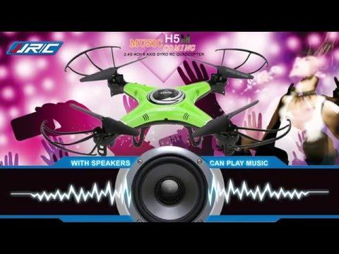 JJRC H5M Quadcopter Drone with built-in music blue