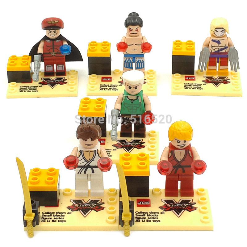 JLB M25901 StreetFighter 6 in 1 set lego compatible