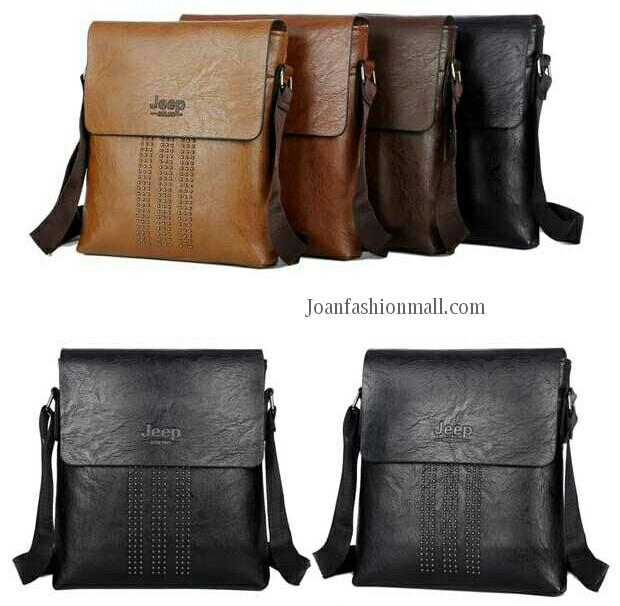 [Joanfm] Professional Messenger Bag Jeep Trend