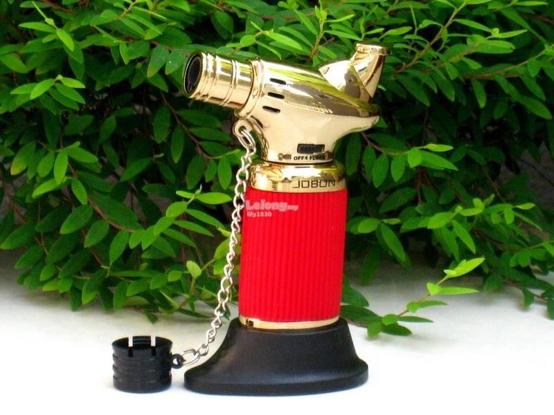Fine Jobon Lighter Zb821 Table Top Jet Torch Cigar Gas Lighter Red Gold Download Free Architecture Designs Embacsunscenecom