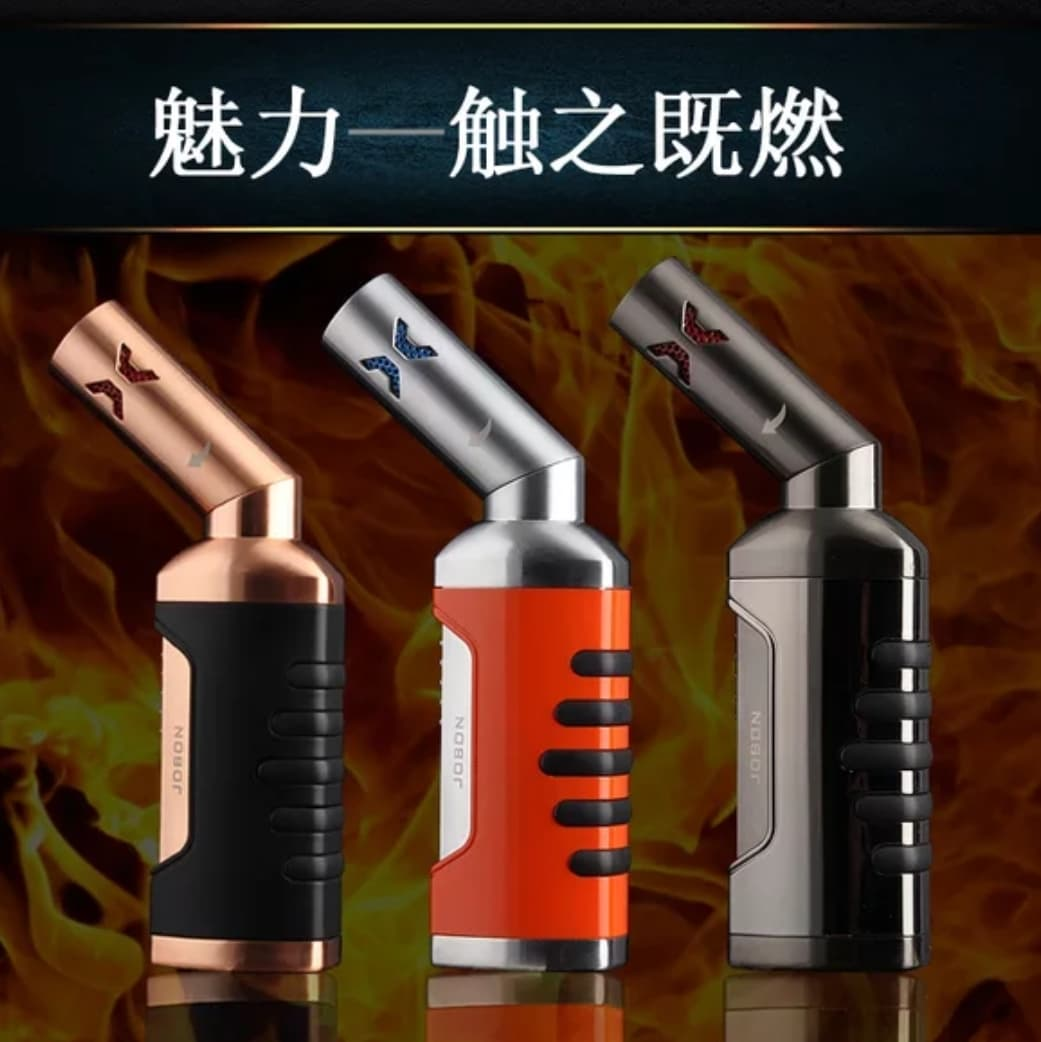 Jobon Quad 4-Flame Jet Lighter ZB-589 (No Lockable)