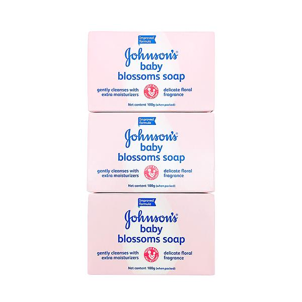 Johnson's Baby Blossoms Soap (3 x 100g)