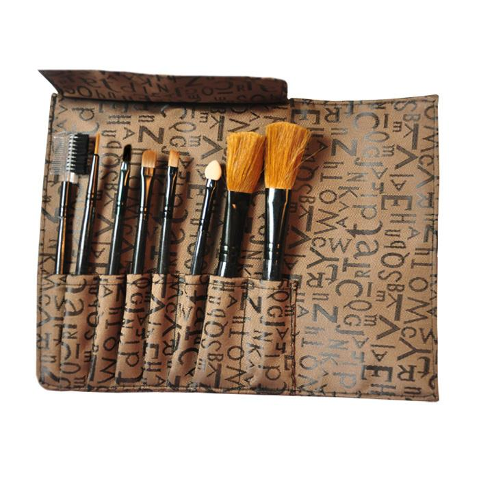 JOJO Makeup 8pcs Brushes Set (Free Pouch) 10694