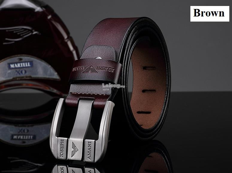 JOSEPH AMANI 2018 - Basic Calf-Leather Belt for men