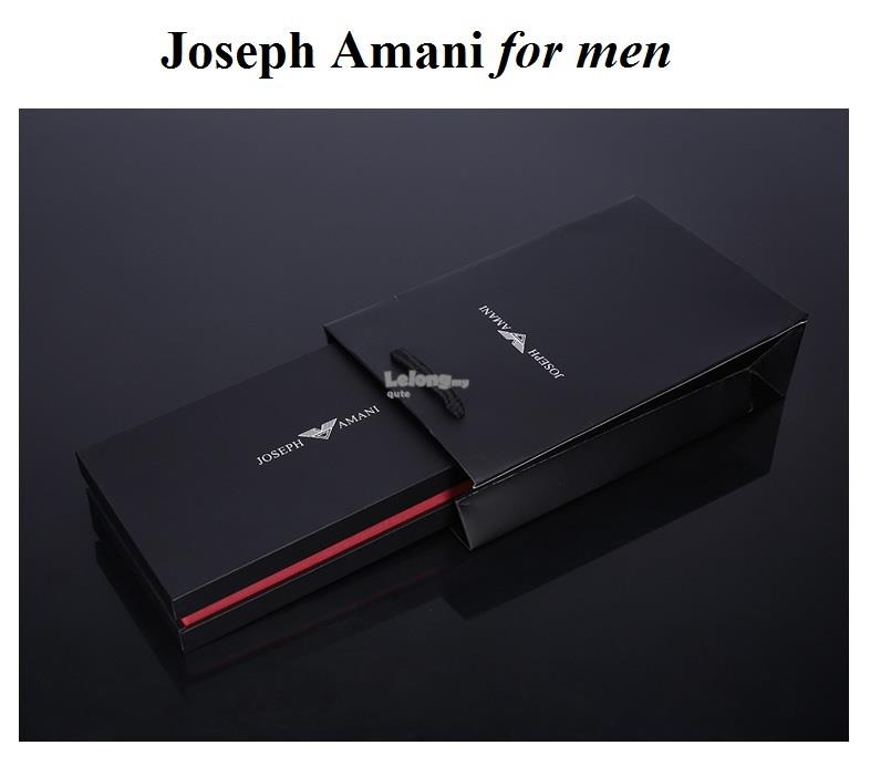 Joseph Amani Summer 2018 - Big Bro Long Leather Wallet