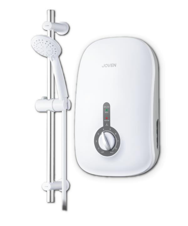 JOVEN INSTANT HOT SHOWER WATER HEATER SA10E - STYLISH & COMFORT SHOWER